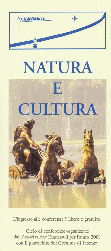 Programma del ciclo Eumeswil 2001: Natura e Cultura
