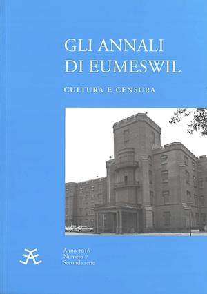 Gli Annali di Eumeswil 2016: CULTURA E CENSURA